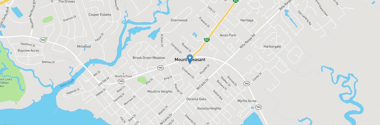 Mount Pleasant Map